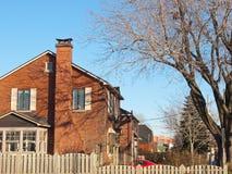 Durchschnittliche Nachbarschaft Lizenzfreie Stockfotos