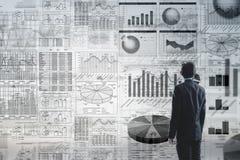 Durchschnittlicher Verkaufsbericht Lizenzfreies Stockbild