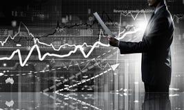 Durchschnittlicher Verkaufsbericht Lizenzfreie Stockfotografie