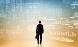 Durchschnittlicher Verkaufsbericht Lizenzfreie Stockfotos