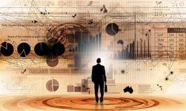 Durchschnittlicher Verkaufsbericht Stockfotos