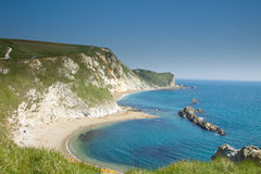 Durdle Door. Which is a very popular tourist destination located in Dorset, England Stock Image