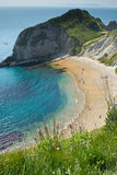 Durdle Door. An image of the popular tourist destination Durdle Door, which is located in the County of Dorset, England Royalty Free Stock Photos