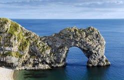 Durdle Door. A natural limestone arch on Dorset s Jurassic Coastline Royalty Free Stock Photo