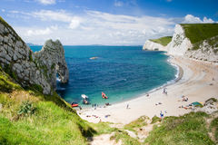 Free Durdle Door Royalty Free Stock Photo - 3922255