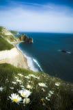 Durdle Door. View of Rock formation Durdle Door on the Dorset Coast royalty free stock image