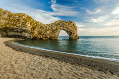 Durdle Door arch in Dorset Royalty Free Stock Photos