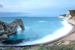 Durdle Door Bay in the Morning Stock Photography