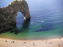 Durdle door cove Royalty Free Stock Image