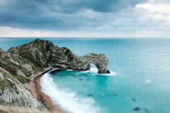 Durdle Door At Dawn Stock Images