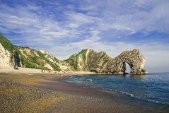 Durdle Door in Dorset Royalty Free Stock Photo