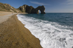 Durdle Door, dorset. Durdle Door in Dorset, UK Stock Photography