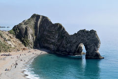 View of Durdle Door, Lulwoth, Dorset Stock Photos