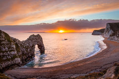 Durdle Door Dorset England Royalty Free Stock Photos