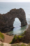 Durdle Door, Dorset. Durdle Door Dorset.  Durdle Door is a natural limestone arch on the Jurassic Coast near Lulworth in Dorset, England Stock Photo