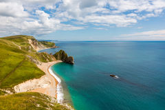 Durdle Door, Dorset touris attraction view from west side Royalty Free Stock Photography