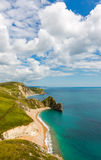 Durdle Door, Dorset touris attraction view from west side Stock Images