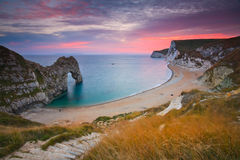 Durdle Door in Dorset, UK. Stock Image