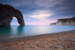 Durdle Door in Dorset, UK. Royalty Free Stock Photo