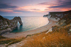 Durdle Door in Dorset, UK. Stock Photos