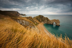 Durdle Door in Dorset, UK. Royalty Free Stock Photography