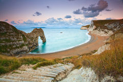 Durdle Door in Dorset, UK. Royalty Free Stock Photos