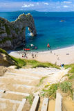 Durdle Door Jurassic Coast Royalty Free Stock Images