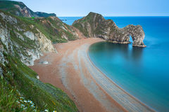 Durdle Door on the Jurassic Coast of Dorset Stock Photo