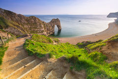 Durdle Door  on the Jurassic Coast of Dorset, UK Stock Photography
