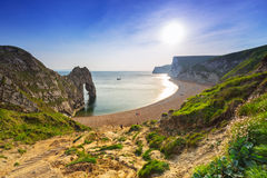 Durdle Door  on the Jurassic Coast of Dorset, UK Royalty Free Stock Photos