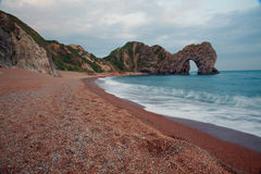 Durdle Door Limestone Arch Stock Image