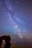 Durdle Door and the Milky way Royalty Free Stock Image