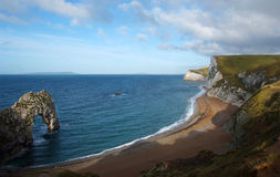 Durdle Door natural stonebridge royalty free stock photography
