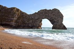 Durdle Door the nature arch Royalty Free Stock Images