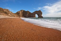 Durdle Door nature arch Royalty Free Stock Photo