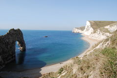 Durdle Door near Lulworth Royalty Free Stock Image
