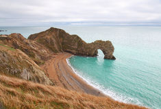 Durdle Door sea arch in England Royalty Free Stock Photo
