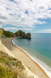 Durdle Door, travel attraction on South England, Dorset Royalty Free Stock Image
