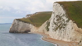 Durdle Door West Beach Royalty Free Stock Images