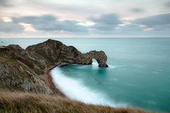 Durdle Door Wide Angle Stock Photo