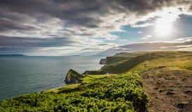 Durdle drzwi, Jurajski wybrzeże, Zachodni Lulworth, Dorset, Południowy Anglia zdjęcie royalty free