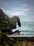 Durdle drzwi plaża z skały Zdjęcie Royalty Free