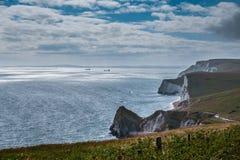 Durdle-Tür, Jura- Küste West- Lulworth, Dorset, Süd-England stockfoto
