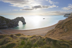 Durdle Tür in Dorset Lizenzfreies Stockfoto