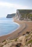 Durdledeur en strand, Dorset Royalty-vrije Stock Afbeeldingen