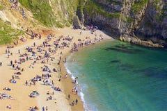 Durdledeur - Mooie stranden van Dorset, het UK royalty-vrije stock foto's