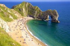 Durdledeur - Mooie stranden van Dorset, het UK royalty-vrije stock afbeelding