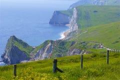 Durdledeur - Mooie stranden van Dorset, het UK stock afbeelding
