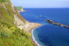 Durdledeur - Mooie stranden van Dorset, het UK royalty-vrije stock afbeeldingen