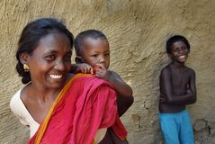 Durée indienne de village Photographie stock libre de droits